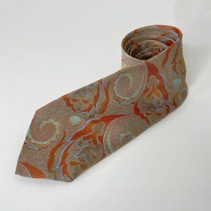 Vintage Welch Margetson Large Paisley Print Tie